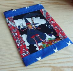 Witch in red bloomers with red and white stockings zip up pencil case/ make-up bag  https://www.etsy.com/uk/shop/Foiledbyfelines