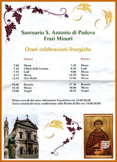 Santuario S. Antonio di Padova, Frati Minori, MI