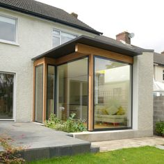 Cantwell House — Carson and Crushell Architects Mid Terrace House, New Builds, Gazebo, Extensions, Garage Doors, Outdoor Structures, Windows, Building, Outdoor Decor