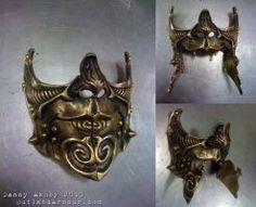 Steampunk Carnival Battle Mask by VynetteDantes