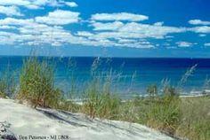 PJ Hoffmaster State Park, Muskegon, MI Ocean-like waves, white sand...wonderful.