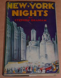 Vintage New York City Books With Great Art Deco Dust Jackets part 2