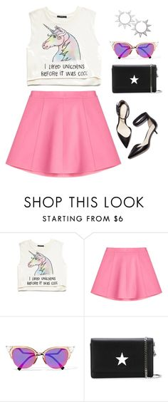 """""""MY LOVE IS UNUSUAL"""" by de-si-ree ❤ liked on Polyvore featuring Forever 21, RED Valentino, 3.1 Phillip Lim, Fendi, Givenchy and Eddie Borgo"""