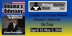 """Obama's Odyssey: The 2008 Race for the White House by Connie Corcoran Wilson #bookreview """"perfect for political junkies"""" @conniecwilson"""