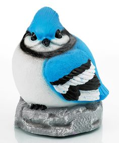 Look at this Blue Jay Audubon LED Statue/Night-Light on #zulily today!