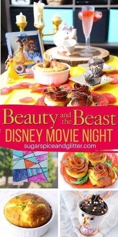 Movie Night For Kids, Halloween Movie Night, Movie Night Snacks, Dinner And A Movie, Night Food, Family Movie Night, Disney Themed Food, Disney Inspired Food, Disney Food