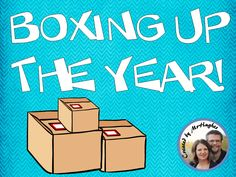 An Educator's Life: Boxing Up The Year: Students AND Teacher!