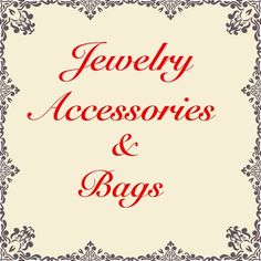 Jewelry, Accessories & Bags Jewelry, Accessories & Bags Other