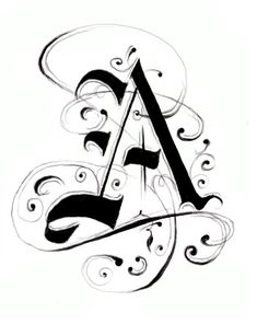 Letter A for my grandson ANTHONY