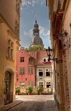 Old Town Riga, Latvija.