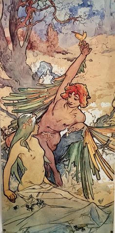 Alfons Maria Mucha, known as Alphonse Mucha, was a Czech Art Nouveau painter and decorative artist, known best for his distinct style. Eslava, Alphonse Mucha Art, Art Nouveau Poster, Illustrator, Arte Floral, Graphic, Art Inspo, Fantasy Art, Cool Art