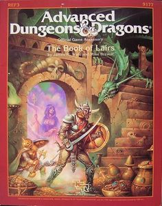 REF3: The Book of Lairs - this was an awesome book. I used it a lot during my big Advanced Dungeons and Dragons sandbox campaign.