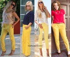 Como usar: Calça Amarela no dia-a-dia | Vestir o Quê?