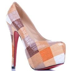 Christian Louboutin Daffodil Assorted Colored Pumps Outlet $139.00