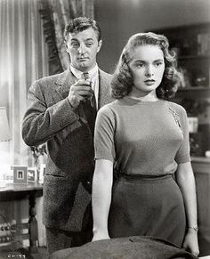Robert Mitchum & Janet Leigh in Holiday Affair, 1949