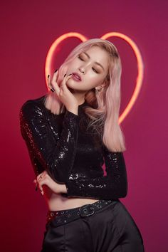 ITZY looks chic as ever with MAC's 'Love Me' Lipstick - lipsticks Kpop Girl Groups, Korean Girl Groups, Kpop Girls, Bts K Pop, Mode Kpop, Homo, Mac S, Looks Chic, Soyeon