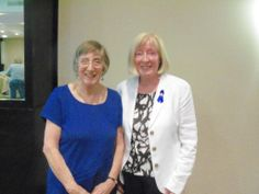 (May 2013) Dr Ros Vallings (left) (#ME International Consensus Primer etc) @ Irish #MECFS Assoc Dublin talk +Q&A (+Vera Kindlon)