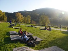 Rochetaillée Banks of the Saone by In Situ « Landscape Architecture Works | Landezi