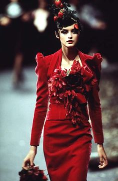 1996-97 - Galliano 4 Givenchy Couture - Trish Goff