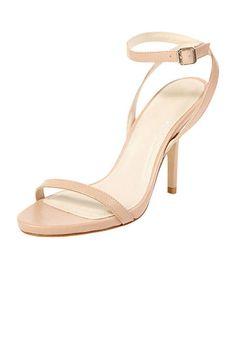 metal trimmed sandal heels from @asos.com.com  S H O E S