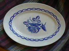 Michel - plat bleu