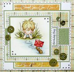 like .. no wait LOVE <3 .. little boy cards are hard