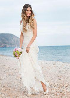 La boda de Lucía » Ideas para que tu boda sea un éxito » Atrévete con el pelo suelto