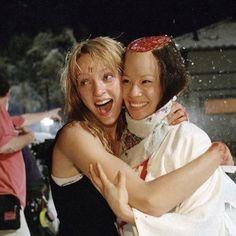 Beatrix Kiddo and O-Ren Ishii