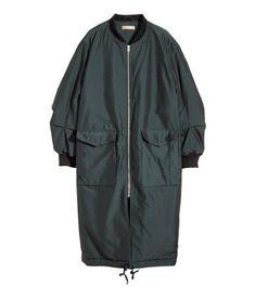 Long Bomber jacket.