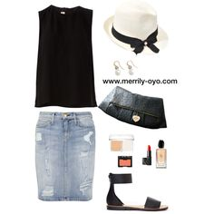 """""""summer fashion"""" by merrily-shop on Polyvore"""