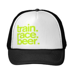 Keeping your skin protected from the sun is important on those long runs! I just started running with this Zazzle Train.Race.Beer. Trucker Hat—not only does it look cute (and make a statement) but it helps keep the sun and sweat out of my eyes. —Elisa Hoffman, Women's Running event coordinator