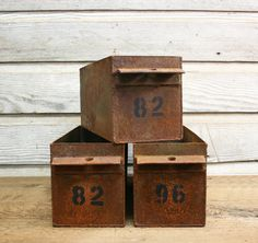 Hey, I found this really awesome Etsy listing at http://www.etsy.com/listing/151499617/vintage-industrial-steel-numbered-bin