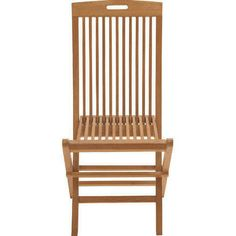 Benzara Comfortable Wood Teak Folding Chair $69 And Often With Free Shpping  From Many Online Stores