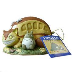 Studio Ghibli My Neighbor Totoro Ceramic Music Box (Nekobasu)