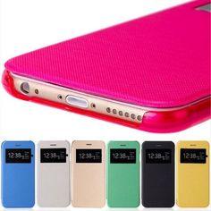 5,88€ und gratis Versand - Luxus-Handytasche-iPhone-5C-5S-6-6-Plus-Flip-Case-Schutzhülle-Handyhülle-Cover für iPhone 5C, 5s, 6, 6 Plus