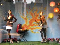 concentrate,you are burning the sausages, pinned by Ton van der Veer