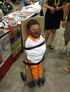 Best Halloween costume ever? Bet the kid doesn't think so.