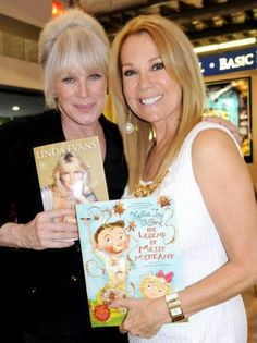 Linda Evans and Kathie Lee Gifford