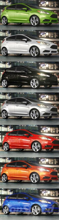 2014 Ford Fiesta ST picture - doc518770 #fiestaST Lots of color options. We have custom floor mats to match them all!