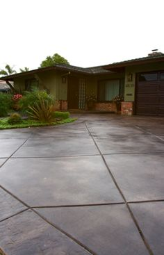 polished concrete on pinterest stamped concrete