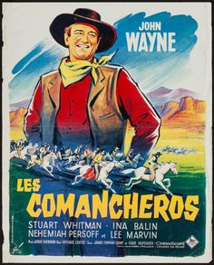 Movie Posters:Western, The Comancheros (20th Century Fox, 1961). French P... Image #1