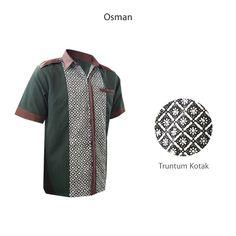 Osman HM-2312  #kemejabatikmedogh  http://medogh.com/baju-batik-pria/kemeja-batik-pria/Kemeja-Batik-Osman-Warrior-HM-2312