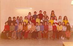 Photo de classe Collège Utrillo 6eme de 1973, Collège Maurice Utrillo