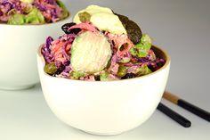 Rainbow master salad con mayonesa alcalinizante