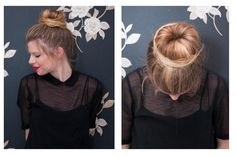 How to Do a Sock Bun Simplified Instructions