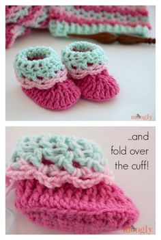 Loopy Love Newborn Baby Booties Free Crochet Pattern Sapatinho De Crochê 62072db5fe4