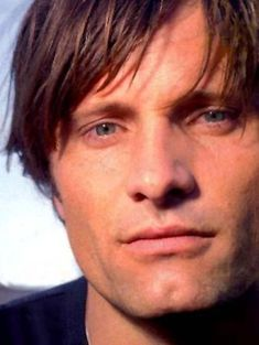 Viggo, you can't help but fall in love with him on paper and then he looks like this too! Beautiful inside and out!