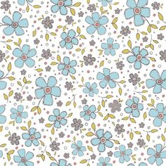 Prairie - Dashwood Studios - Ditsy Floral £3 http://www.thehomemakery.co.uk/fabric/dashwood-studios/prairie/prairie-dashwood-studios-ditsy-floral