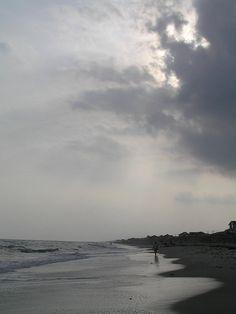 approaching storm    Emerald Isle, NC.
