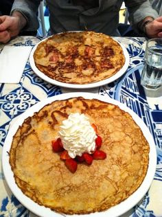 Go to Amsterdam for the best pancakes you will ever have!